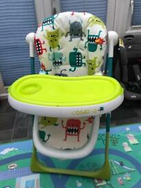 Cosatto Noodle Supa Highchair - Monster Mash 2