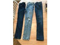 Age 11-12 river island jeans 1 brand new with tags