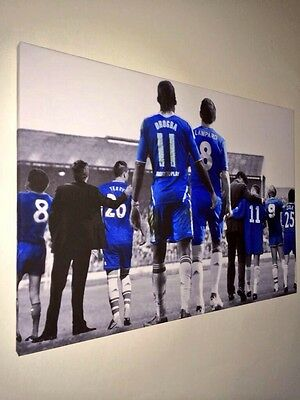 "Chelsea FC Legends Canvas Print (26""x18"") £20"