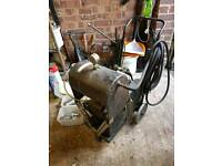 B.E.N. patents high wycombe model a air compressor spray paint machine very old and vintage!
