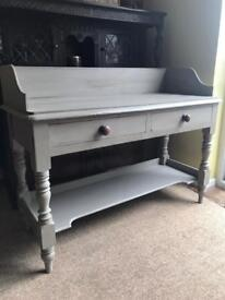 Refurbished Antique Solid Mahogany Dresser/Console Table (Can Deliver)