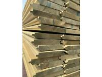Cladding boards VT&G boards Treated Wood Timber, various sizes