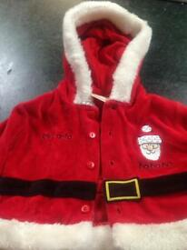 Lovely Two Piece Baby Santa Suit 0-3 mths