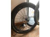 DT Swiss XMC 1200 Carbon Rims 27.5 650b wheels mtb