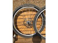 "Mavic Crossride 26"" MTB wheels"