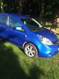 (1060) Nissan Note 1.6 Tekna automatic Top of the range full spec