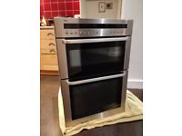AEG integrated double oven