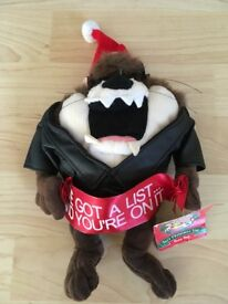 3 Warner Brothers Christmas cuddly toys