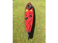 Wayland Harpoon I 500XL Expedition Folding Kayak with extras