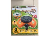 Stretch hose multipurpose sprinkler - New in box