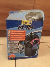 External filter tetra 700