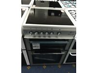 New Ex-Display Flavel Millano ML61CDS 60cm Ceramic Cooker Silver £275