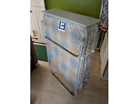 FOLDING BED, SINGLE. GOOD CONDITION - HARDLY USED. FREE TO COLLECT