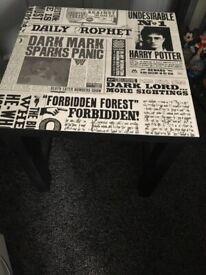 Bespoke Harry Potter large side table