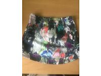 Topshop mini skirt size 8