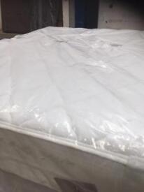 Double Sensaform Pocket Sprung Memory Foam Mattress Wrapped As New