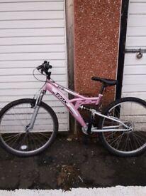 Lilac Ladies Bike