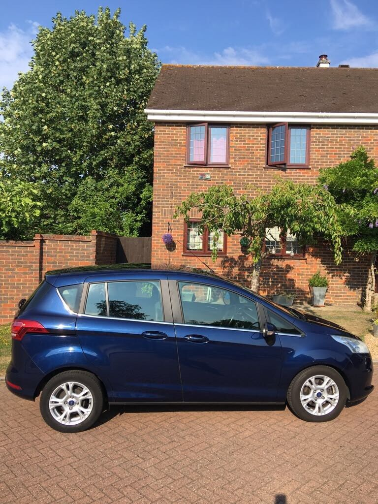Ford B Max 15 Tdci Zetec Immaculate Interior And Exterior Low Milage Full Service History