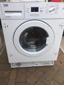 Beko Intergrated Washing Machine 7kg New and Unused