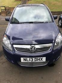 2013 Vauxhall Zafira 1.6i Exclusiv 5dr
