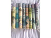 Vintage Nancy Drew books