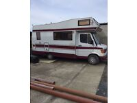 mercedes 208D camper van
