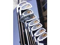 Wilson ultra select left/handed golf clubs