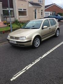 Mk 4 golf 1.6 16v very good condition and low miles