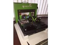 Xbox One with Headset and Mic