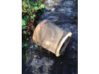 For Sale this Clay Pot in fair condition (Used); Colours: Red; 300mm external diameter