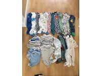 Baby bundle 3-6 months boy