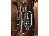 Good condition cornet need gone as takingup unnecessary room. Comes with case