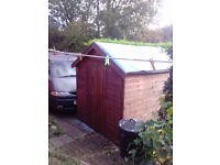 Wooden Garden Shed - excellent condition SORRY - NOW SOLD