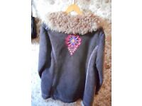 Vintage Designer Sheepskin Jacket from Germany