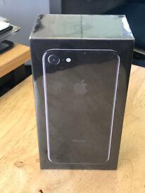 Apple Iphone 7, 128gb Jet Black (brand new sealed)