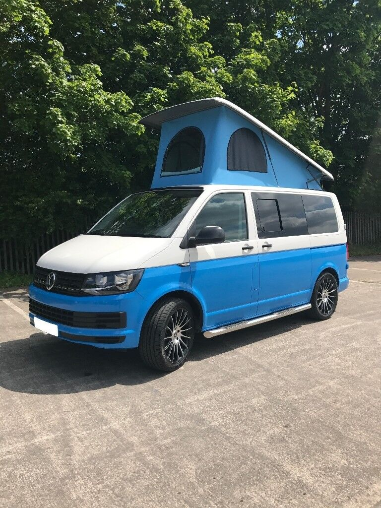 VW T6 Sky Blue Campervan FREE Awning