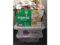 Massive job lot of baby girls clothes