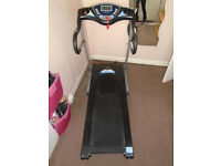 TREO Fitness T101/T102 Treadmill - Hardly used - Speed / incline / pulse rate RRP £800 - Liverpool