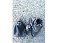 Ford focus mk1 handbrake and gearbox leathergaiter