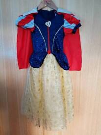 Snow White, Sleeping Beauty and Barbie Dresses Age 5-6