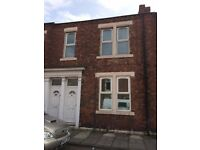 EGLESFIELD ROAD SOUTH SHIELDS - 2 BED FLAT TO LET – REFURBISHED - DSS WELCOME – NO BOND
