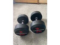 30kg gym dumbbells