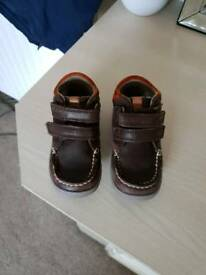 Kids Brown Clarks Boots size 5.5