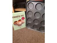 Whoopie pie tin and recipe book