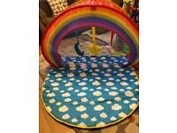 2 in 1 baby gym and ball pool