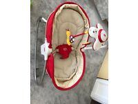 3 in 1 rocker napper baby bouncer tiny love, perfect condition