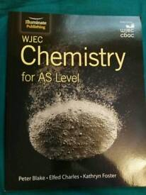 WJEC AS level chemistry 2017-18