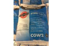 1 x Bond it white steri floor and wall grout - 3kg bag