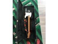 Fender Telecaster, case and strap