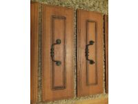 Kitchen Cabinet Doors - Solid Oak